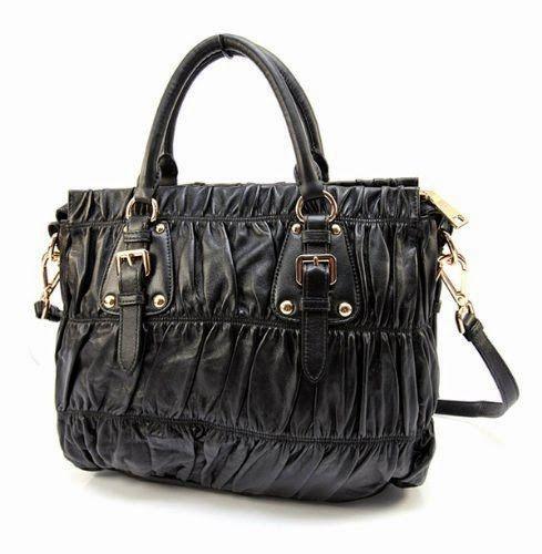 replica prada handbags sale - Prada BN1336 Black Gauffre Leather Handbag | Prada | Pinterest ...