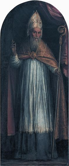 Saint of the Day – 20 July – St Apollinaris – Martyr and Bishop, Disciple of St Peter (born in Antioch, Turkey and was Martyred by being stabbed with a sword c 79 at Ravenna, Italy).   His relics are at the Benedictine abbey of Classe, Ravenna and in Saint Lambert's church, Düsseldorf, Germany.   Patronage – epilepsy; gout, archdiocese of Ravenna-Cervia, Italy and 6 cities.  Attributes – bishop healing a boy's eyes, sword.....