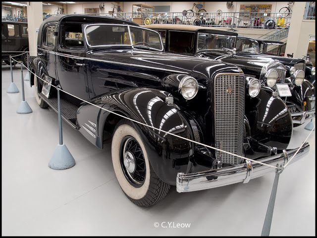 1934 Cadillac V16 Town Cabriolet, originally owned by actress Marlene Dietrich, Southward Car Museum, New Zealand.