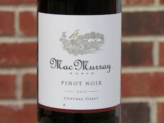 MacMurray Pinot Noir - Perfect for pairing with Turkey. Click for my review: http://www.honestwinereviews.com/2014/11/macmurray-pinot-noir.html