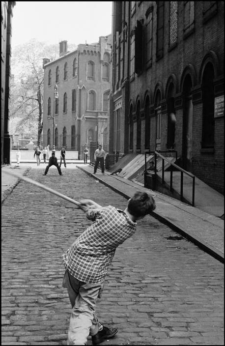 USA. New York City. 1955. Little Italy. Leonard Freed