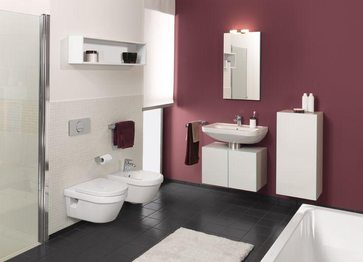 Pomysł na wyposażenie łazienki Villeroy & Boch Omnia architektura