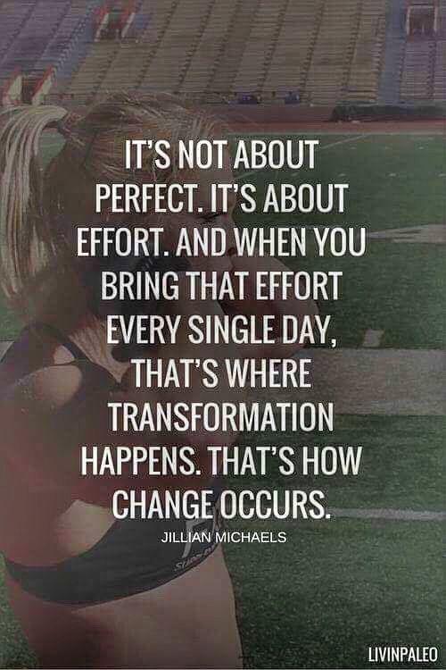 #effort #change #transformation #fitnessmotivation #fitlife #coachrob #jillianmichaels