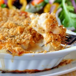 Cod au Gratin - put the fish and cheese debate to rest with this creamy, delicious, comfort food meal; a local favorite here in Newfoundland.