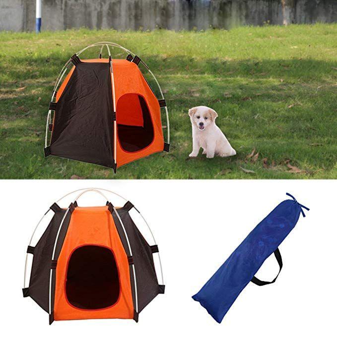 Mylifeunit Outdoor Pet Tent Portable Dog House Pet Camping Tent