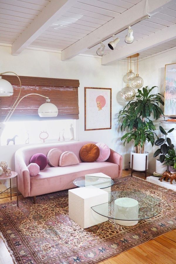 We Fell In Love With This Cotton Candy Couch And Its Corresponding
