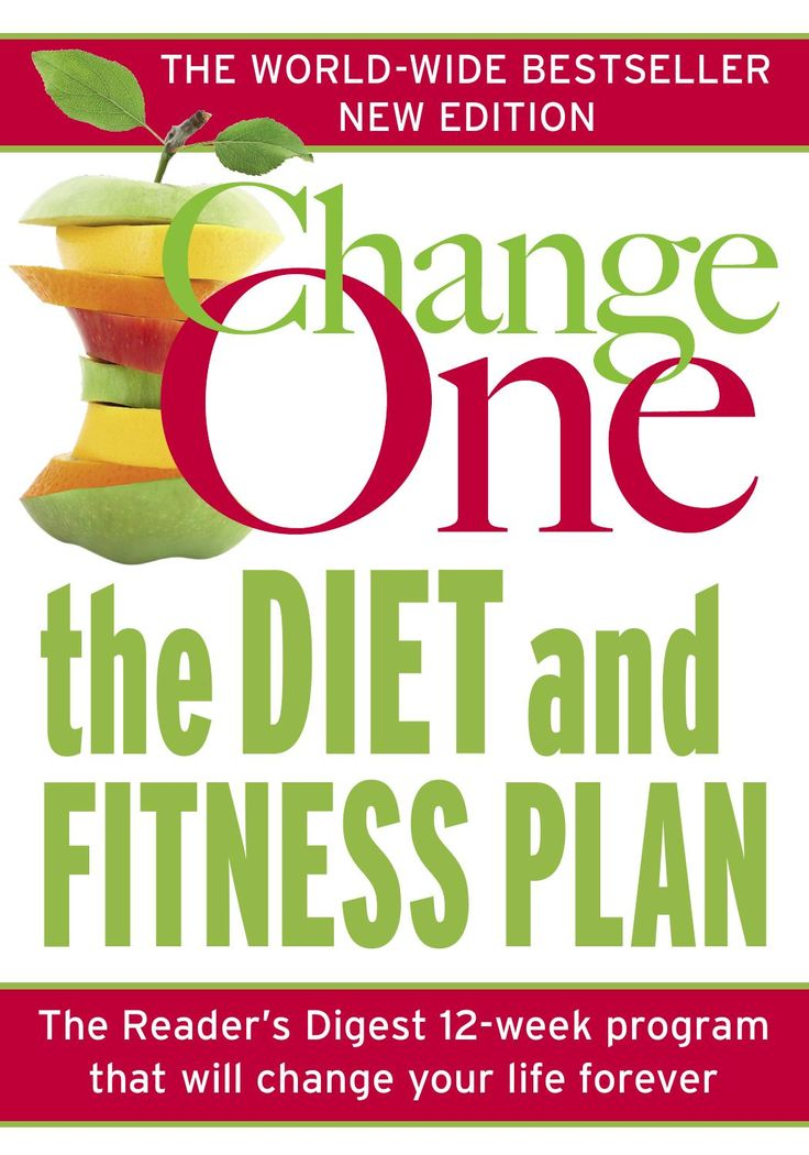 Reader's Digest ChangeOne  Change One - The Diet and Fitness Plan
