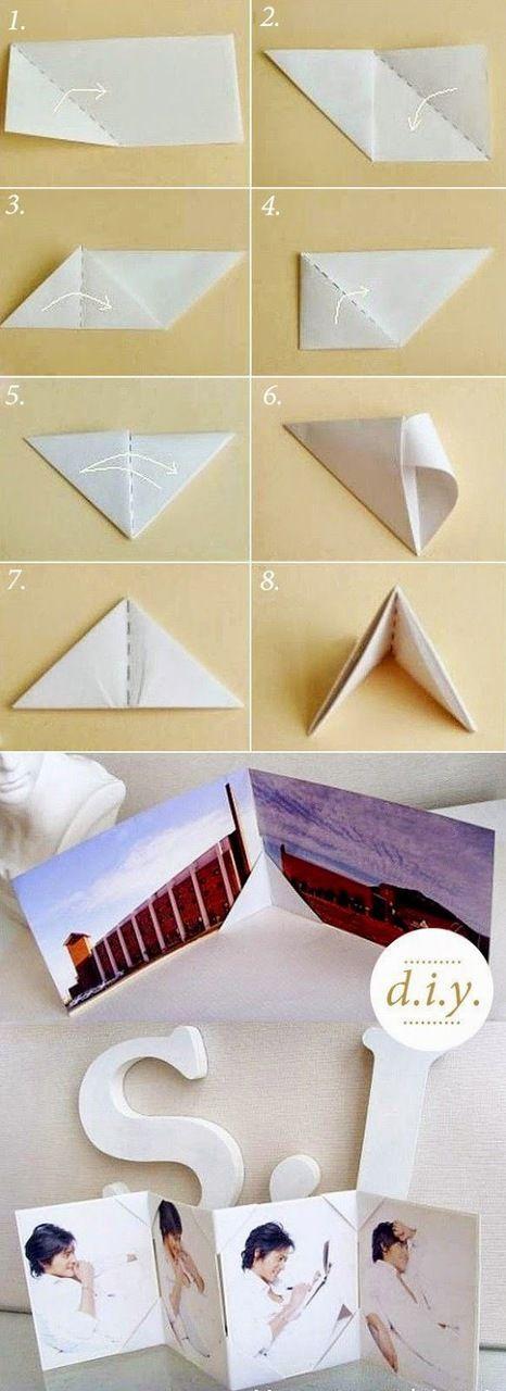 Imagen de origami, diy, and porta fotos