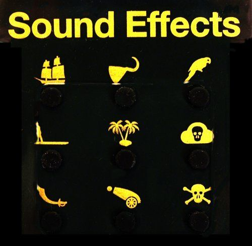 Sound Effects - Pirate Edition by NPW. $7.59. The convenience of a hand-held sound-effects library is hard to beat, but sometimes even smaller is better! Same audio hilarity at the touch of a button, but in a new mini-format with 9 quality sound-bites each.All the piratical effects you will need to enhance conversation whilst swabbing the deck, drinking grog, stealing the booty etc.