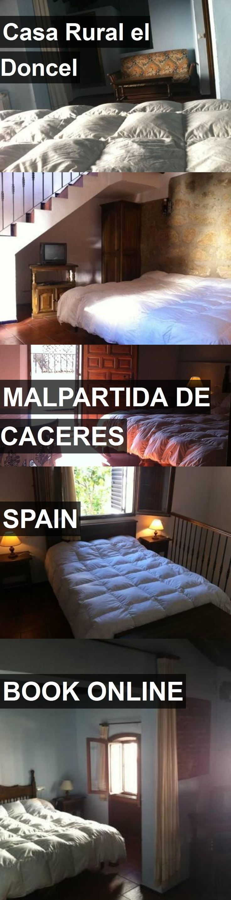 Hotel Casa Rural el Doncel in Malpartida de Caceres, Spain. For more information, photos, reviews and best prices please follow the link. #Spain #MalpartidadeCaceres #CasaRuralelDoncel #hotel #travel #vacation