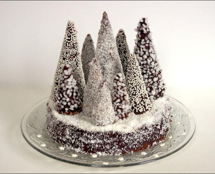 Gâteau sapins