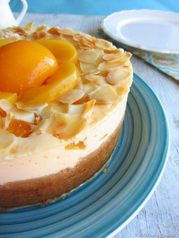 Coco e Baunilha: Cheesecake de Pêssego Melba