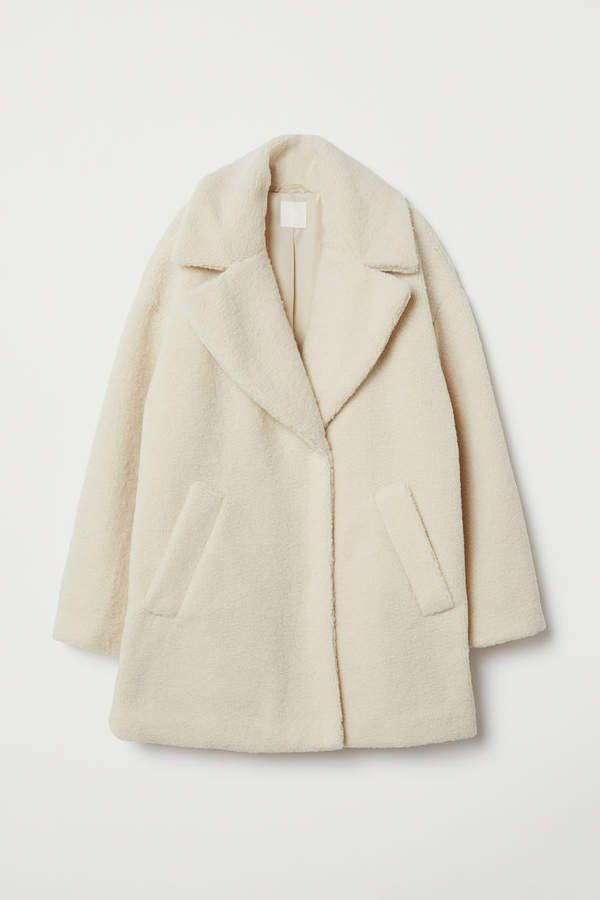 H M Faux Fur Coat Beige Fur Coat Coat Beige Faux Fur Coat