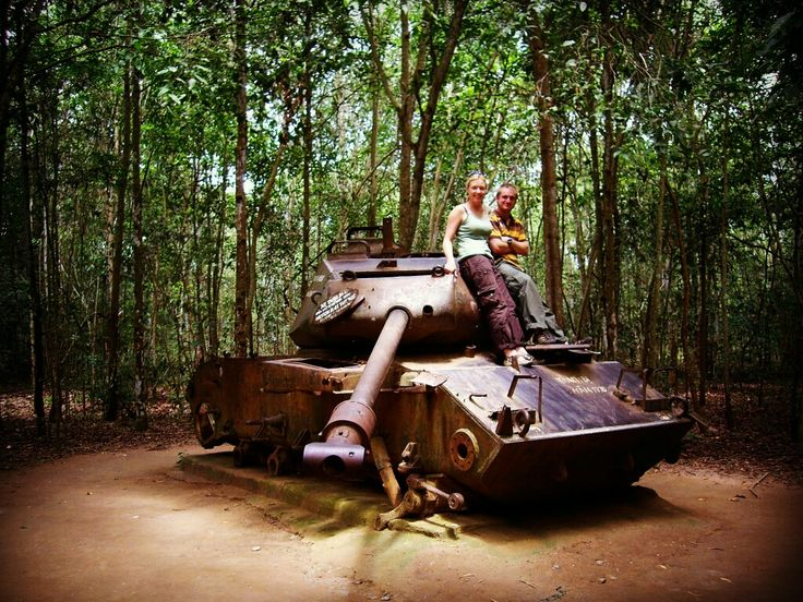 Cu Chi tunnel 2007.  Mekong Riders - Adventure Motorcycle & Car Tours anytime, anywhere. Do more boat trips less driving. Do homestay with locals. Small roads, off the beaten track only. Reasonable Prices.  Contact us for more information: VIETNAMRIDER® Original since 1995 Website: http://vietnamrider.com  #adventure #motorbike #tours #vietnamrider® #invietnam #instagram #instagood #likeforlike #nam #offroad #mekongdelta #homestay #boattrip #floating #market #cantho #mytho #bentre #travinh