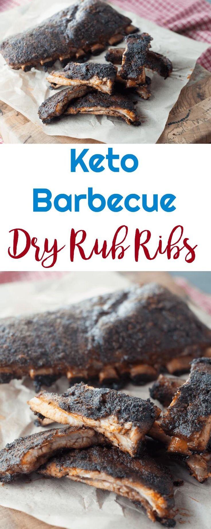 Keto Barbecue Dry Rub Ribs