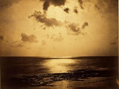 Gustave Le Gray / Un effet de soleil, océan, n° 3, 1856