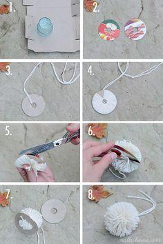 DIY: perfect pom-pom