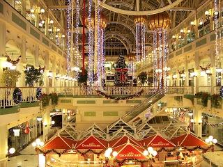 Ir de compras en Dublin en Diciembre