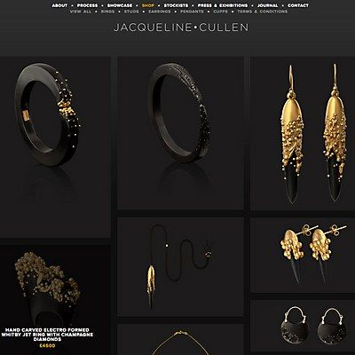 Webpick of the Day - Jacqueline Cullen jewelrey by Construct