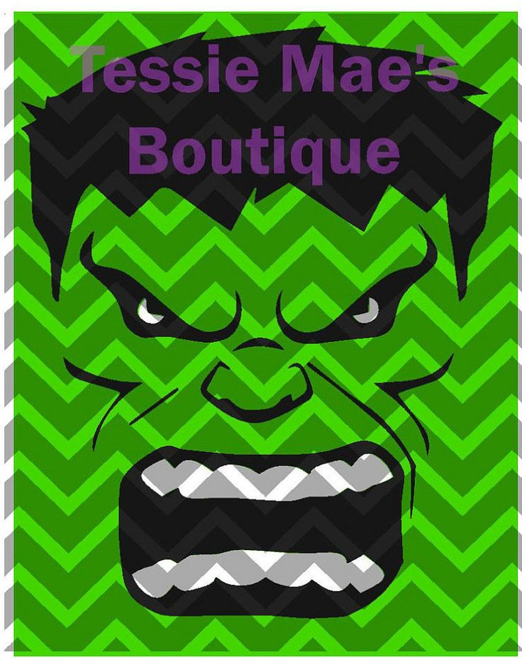 Hulk SVG DXF EPS Hulk Instant Download Hulk by TessieMaesDesigns