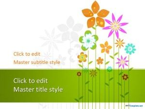 Free Floral PPT Template