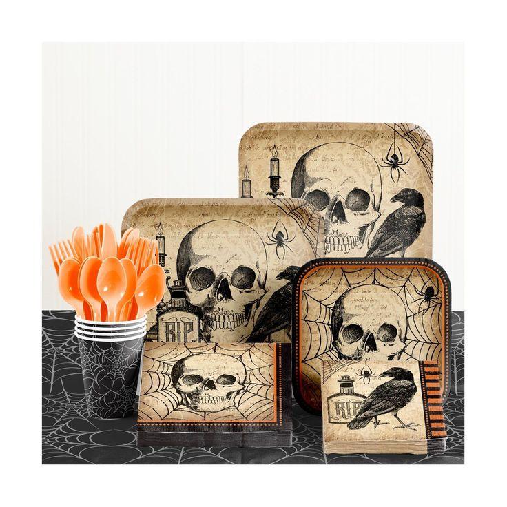 Spooky Symbol Halloween Party Supplies Kit #halloweenpartysupplies