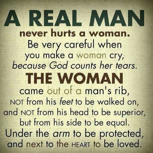 when you meet a real man never hurts