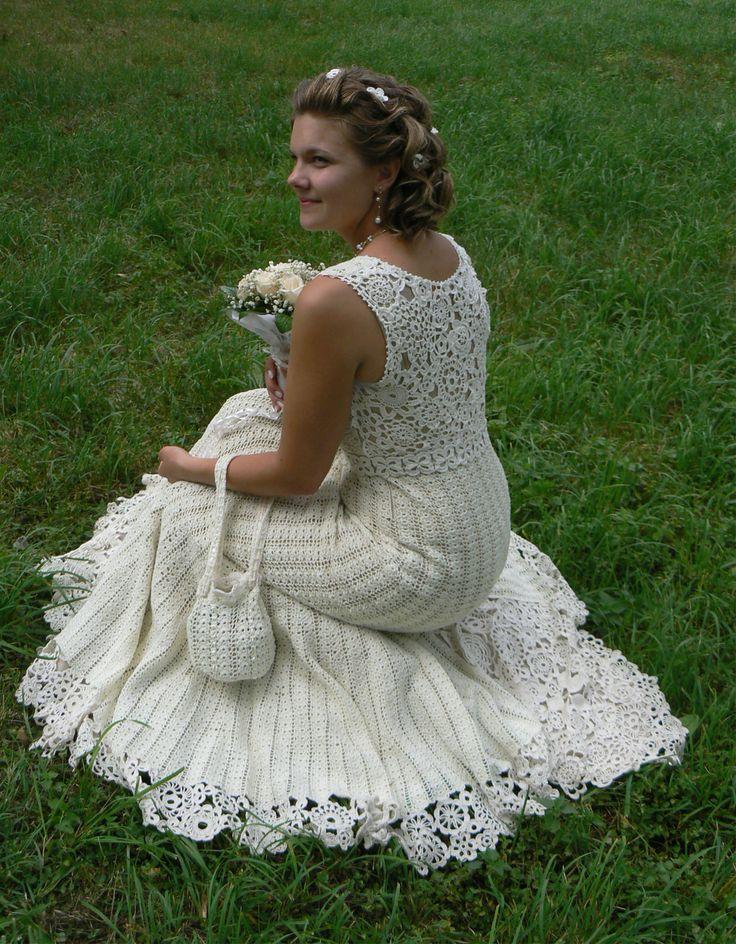 357 best crochet inspiration / wedding dress images on Pinterest ...