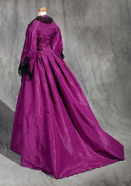 Dress ca. late 1860's From the North Carolina Museum of History
