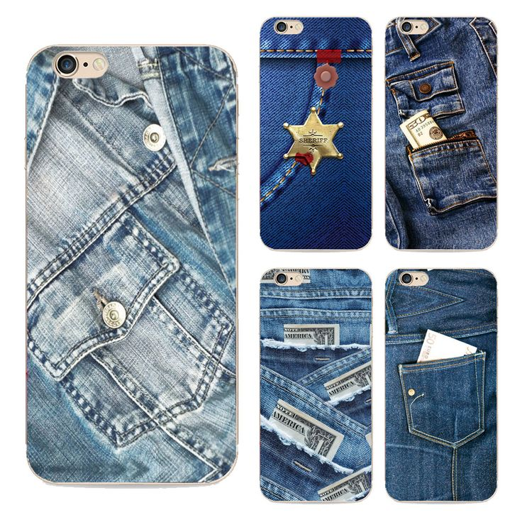 Back Cover For Apple Iphone 6s Plus Case Handsome Jeans Patterns Cowboy Painted Phone Case For Iphone 6 Plus Tpu Capa