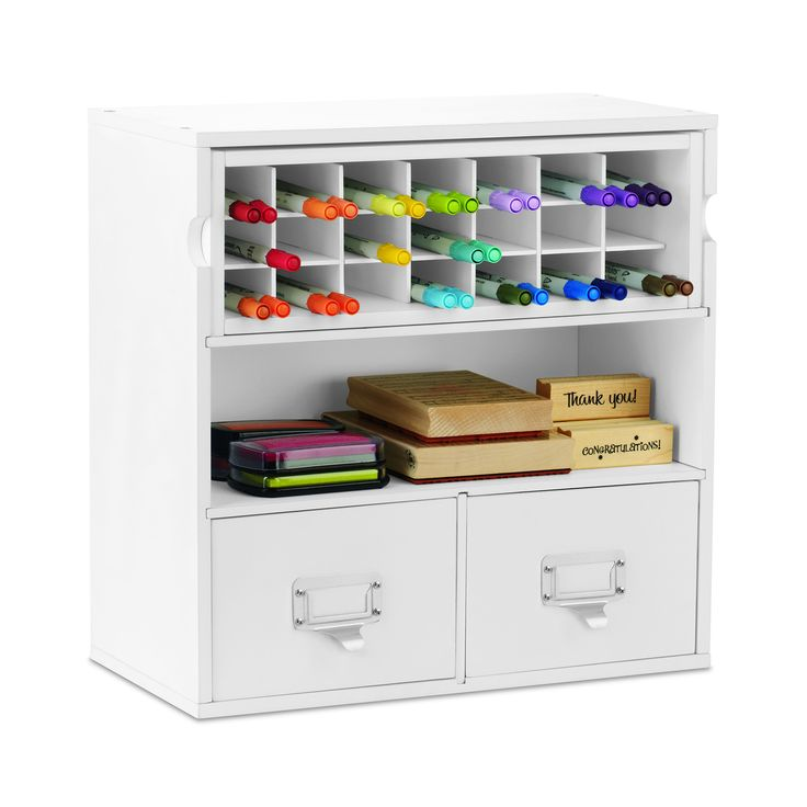 Desktop Organizer with Marker Storage by Recollections™