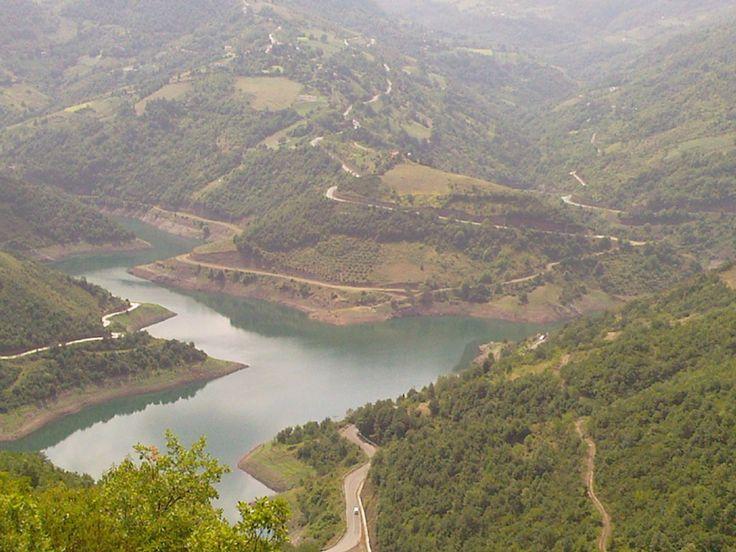 Yuvacık Baraj Gölü - İzmit, Kocaeli; Türkiye