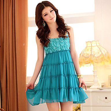 Vestidos de promocion cortos para niñas
