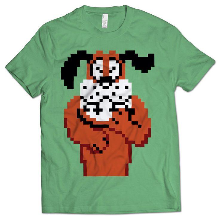 Duck Hunt Dog T-shirt de NerdFuel en Etsy https://www.etsy.com/es/listing/291690969/duck-hunt-dog-t-shirt