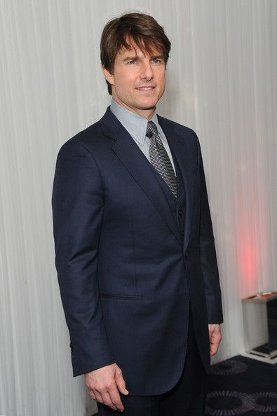 "Tom Cruise Photos Photos - Tom Cruise attends the European premiere of ""Divergent"" at Odeon Leicester Square on March 30, 2014 in London, England. - Jameson Empire Awards 2014 - Inside Arrivals"