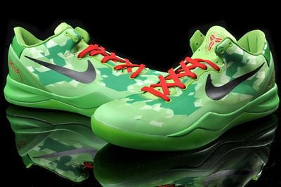 Cheap Buy Online Nike Kobe 8 Cheap sale System Green Black Red 5
