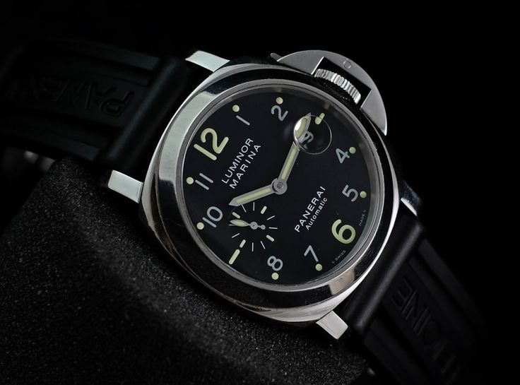 """Panerai PAM301 Luminor Marina Automatic """"the Ghost"""" Limited500pcs 'K'  Ref. No. PAM 301 Movement Automatic Case Material Steel Case Diameter 44 mm Bracelet Material Leather Serie 'K' Condition 95%    (Fullset Box Manual Paper)  WE ARE BASED AT JAKARTA - INDONESIA please contact us for any inquiry : whatsapp : +6285723925777 blackberry pin : 2bf5e6b9 #panerai #pam301 #titanium #indoristi #bruristi #officinepanerai #paneristi #paneraicentral #singapore"""
