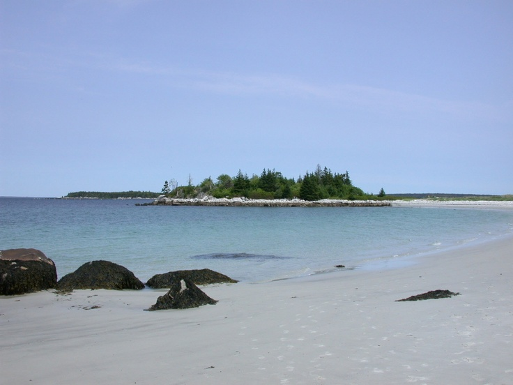 This is my FAVOURITE beach!!! So lucky to live here.      Carters Beach in Port Mouton, Nova Scotia.