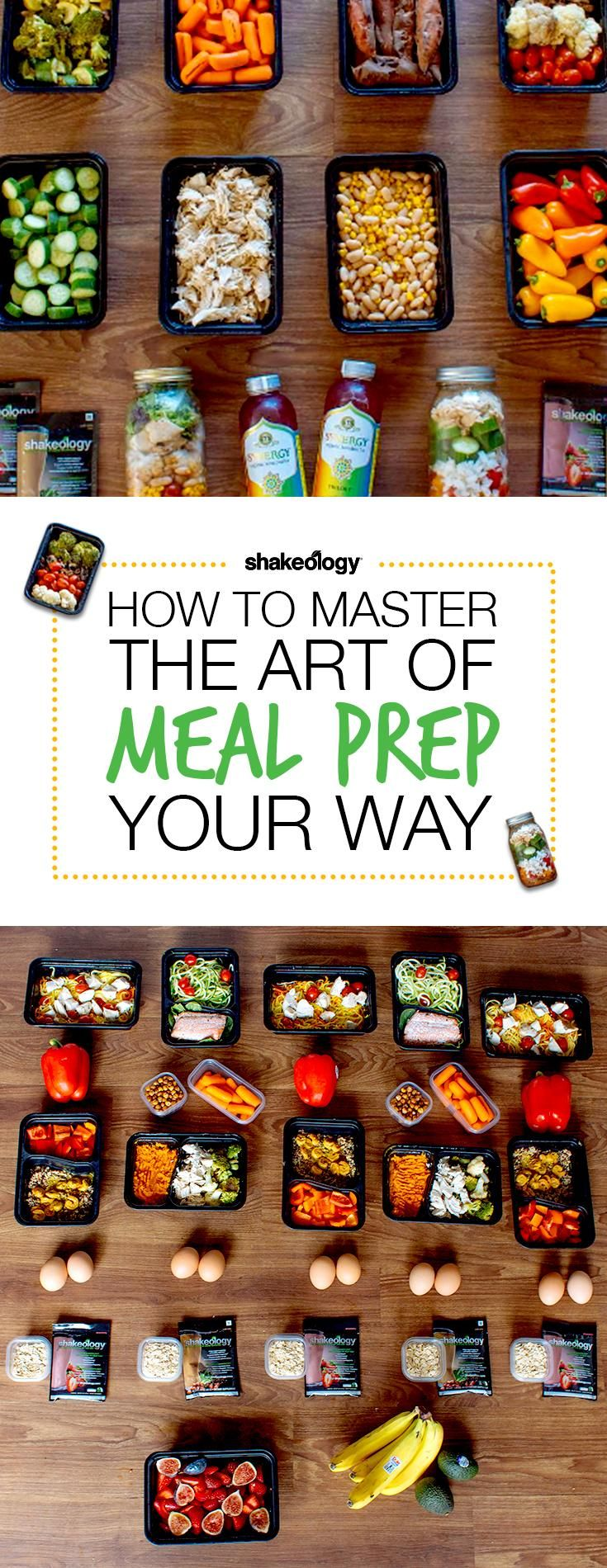 """""""Pin to Win""""// Pin of the day! Repin for your chance to win a prize.  How to Master the art of meal prep! Shakeology // Meal Prep // healthy food // Healthy treats // vegetarian // Foods // Beachbody // Recipe // Morning // Lifestyle // Superfood // 21 Day Fix"""