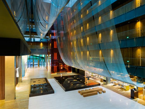 opposite house: Boutique Hotels, House Beijing, Kengo, Boutiques Hotels, House Hotels, Architecture Lighting, Oppositional House, Hotels Lobbies, Design