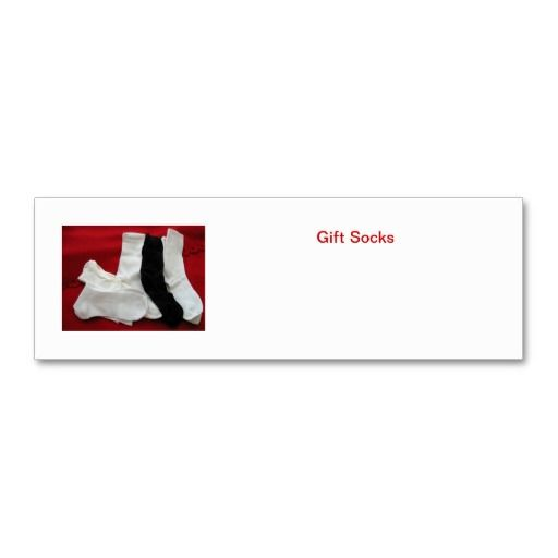 Gift socks card for the homeless by Sock Granny (aka gramabarb). Include a small gift card inside each pair of socks you donate the year rou...