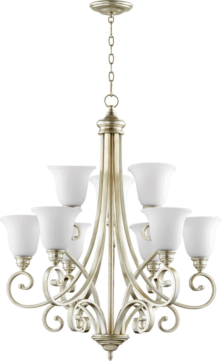 Quorum electra 8 light sputnik chandelier amp reviews wayfair - Nine Light Chandelier