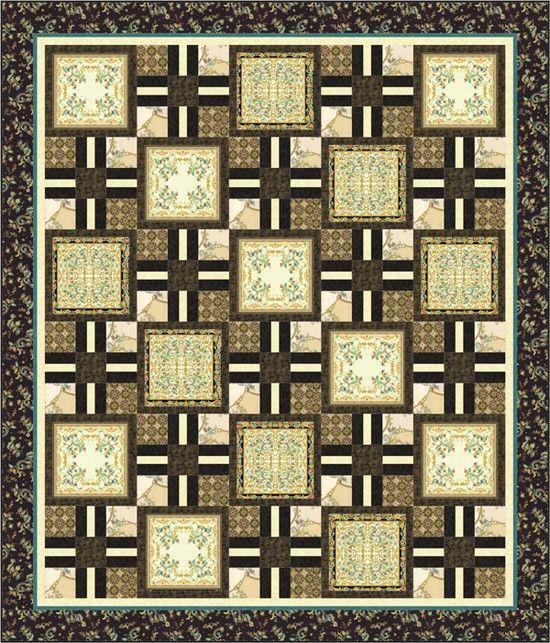 Antonella Quilt Pattern From Hoffman Fabrics Pattern