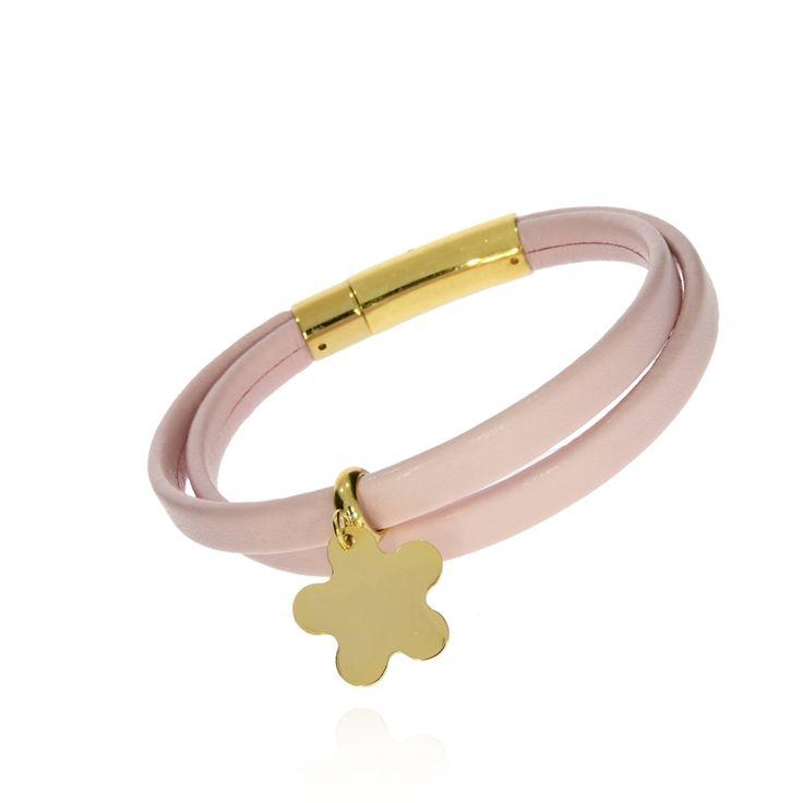 BRA 0037 - Różowa - Aleksandra Strippentow Biżuteria Handmade