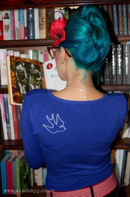 Blue hair! Turquoise & Lagoon Blue?