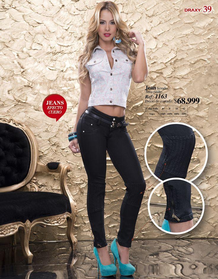 Jean 1163 Chaleco animal Print http://draxycatalogo.com/draxy_ultima_moda/productos/producto/01049