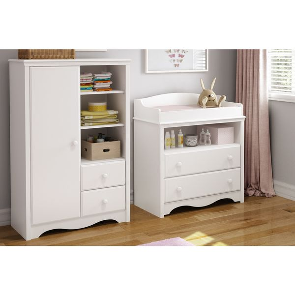 Shop South Shore Furniture Heavenly Changing Table And Armoire Set At  Loweu0027s Canada. Find Our Selection Of Nursery Sets At The Lowest Price  Guaranteed With ...