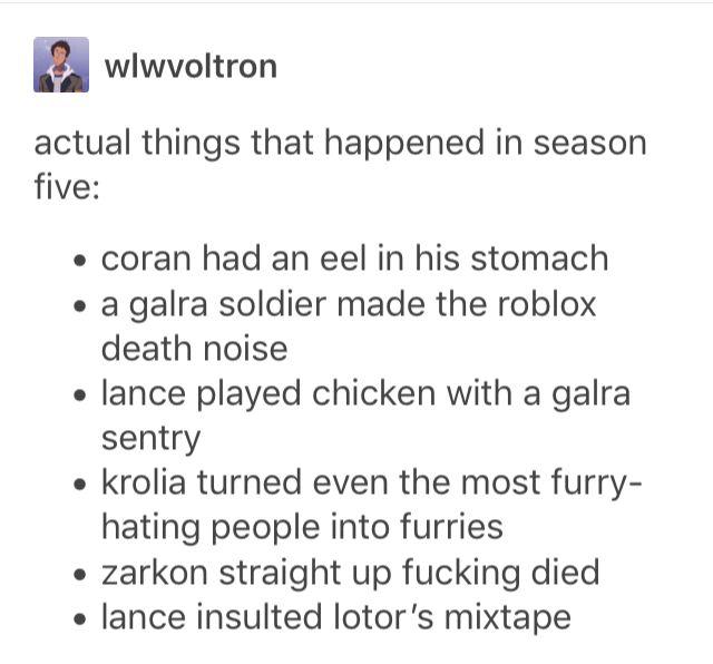 """zarkon straight up fucking died"" i was legitimately shocked when that happened"
