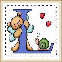 """calamita quadrata in legno di frassino """"L'alfabeto degli orsetti lettera L"""" bordo in legno naturale, idea regalo, artigianato italiano, made in Italy, con frase scritta, spiritosa, fuori stanza, appendi porta, fuori porta, tavola country, 5,5 cm x 5,5 cm"""