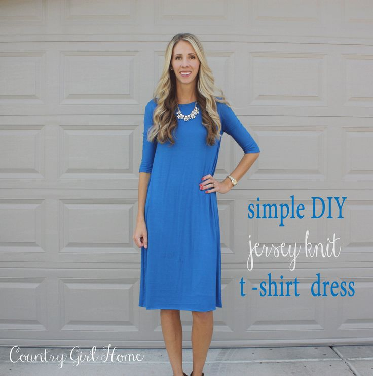 Best 25+ Jersey knit dress ideas on Pinterest Jersey knits, Tunic pattern a...
